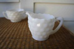 Milk #glass #cream and #sugar set,  View more on the LINK: http://www.zeppy.io/product/gb/3/121137535/