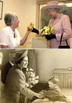 <3   Return of a favor, 60+ years later.