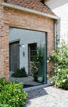 Barn Conversion Exterior, Home Music Rooms, Barn Renovation, Interior Windows, Small Buildings, Window Design, Types Of Houses, Modern House Design, Building A House