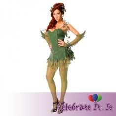 A Poison Ivy costume will help you transform into any version of this famous Batman villain. Choose from a sexy Poison Ivy costume and pair with a Harley Quinn costume for a superhero villain duo! Poison Ivy Costumes, Poison Ivy Halloween Costume, Costumes Sexy Halloween, Villain Costumes, Adult Costumes, Costumes For Women, Adult Halloween, Batman Costumes, Women Halloween