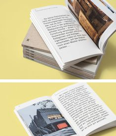 Berner Fachhochschule. Oversized type. Simple, beautiful photography. White border. Workman-like book wrap.