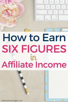 Affiliate income is one of the best ways to make extra money online. If you want to make more money, learn how to use affiliate marketing!