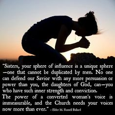 They need OUR voices. Let us all stand as witnesses at all times and in all things and in all places. :)