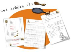 25  recettes de cuisine pour la classe Free Frames, Cycle 3, French Food, Crepes, Homeschool, Teaching, Education, School Ideas, Nutrition