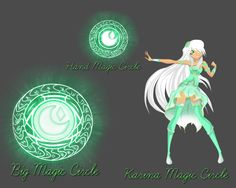 Lolirock : Karina Magic Circle by Karinafary on DeviantArt