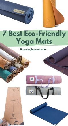 7 Best Eco-Friendly Yoga Mats for a Healthier Practice | Every yogi knows the value of a high-quality yoga mat. Here are top picks of eco-friendly, non-toxic yoga mats that will take your practice to the next level! #ecofriendly #yoga #yogamats #wellness #sustainableliving yoga poses for beginners YOGA POSES FOR BEGINNERS | IN.PINTEREST.COM HEALTH EDUCRATSWEB