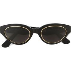 Retrosuperfuture \'Drew Impero\' Sunglasses (€185) ❤ liked on Polyvore featuring accessories, eyewear, sunglasses, glasses, retrosuperfuture sunglasses, retrosuperfuture glasses and retrosuperfuture