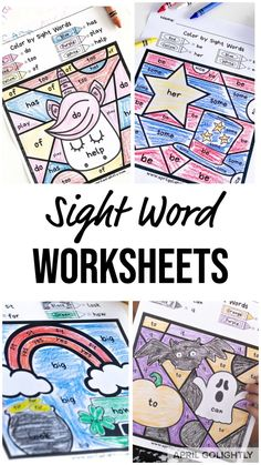 Teaching ideas 202802789457756362 - Sight word worksheets FREE printables for words to help kids with their kindergarten home schooling Source by aprilgolightly Teaching Sight Words, Sight Word Games, Sight Word Activities, Kindergarten Activities, Kindergarten Sight Word Worksheets, Sight Word Spelling, Preschool Sight Words, Preschool Worksheets, Free Printable Worksheets