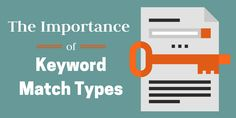 """The Importance of choosing the correct Keyword Match Types. To build your search campaigns you need to setup Keywords in every Ad Group. You must add keywords that match the words or phrases that people search for. Keyword Match Types Broad Match Broad Match Modifier Phrase Match Exact Match Symbol Keyword+Keyword""""Keyword"""" Broad Match Broad match is the default match type that all your keywords are assigned. #Adwords #googleads #keywordmatchtypes"""