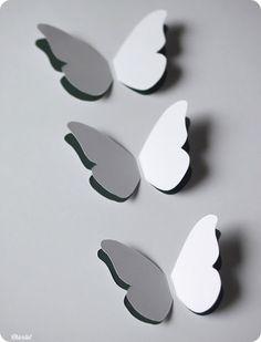 DIY - Tutoriel du cadre à papillons