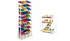 4- or 10-Tier Shoe Rack