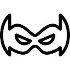 Resultado de imagem para para imprimir mascara do robin