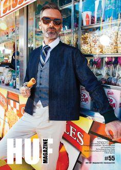 Front Cover For HUF Magazine — Toronto Fashion Photographer - Roberto Vazquez Photography Talent Agency, Huf, Prado, Magazine, Blazer, Portrait, Toronto, Catalog, Editorial
