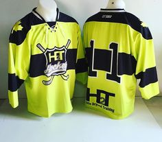 Our new spring hockey jerseys.