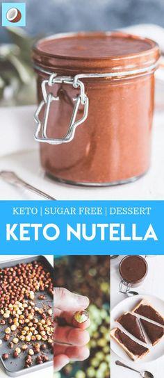 Keto Diet List, Starting Keto Diet, Sugar Free Nutella, Nutella Vegan, Keto Diet Breakfast, Breakfast Recipes, Low Carb Vegetables, Ketosis Diet, Ketogenic Diet