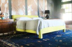 DIY Platform Upholstered Bed