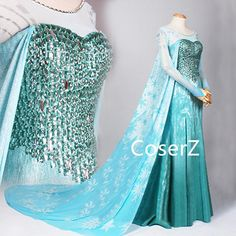 Coserz offers affordable handmade custom princess dresses, cosplay costume, cosplay wig, accessories and more. Take custom requests for any cosplay design. Princess Elsa Dress, Frozen Elsa Dress, Anna Dress, Disney Princess Dresses, Disney Dresses, Elsa Cosplay, Cosplay Dress, Cosplay Outfits, Cosplay Costumes