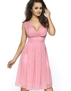 Pink Sweety Pinned-up Scarlet Dress
