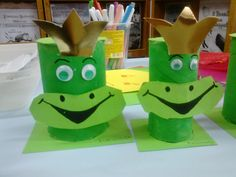 frogs #reuse toilet paper roll or other cardboard tube