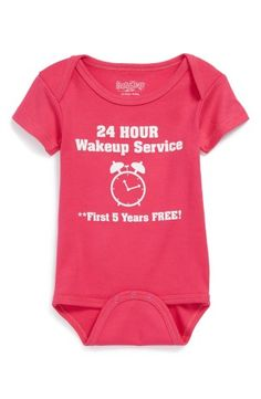 Wakeup Service Bodysuit
