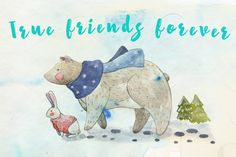 Best friends forever by Vavavka on @creativemarket