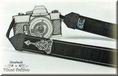 Kameragurt Kameraband von Blinni-Fashion auf DaWanda.com
