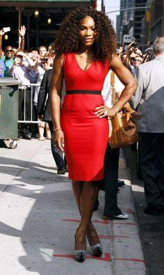 Serena Williams in Victoria Beckham