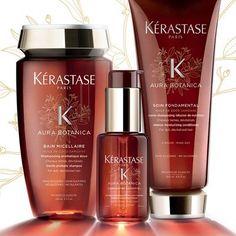 Kérastase Aura Botanica New Natural Hair Care | Rush Hair & Beauty