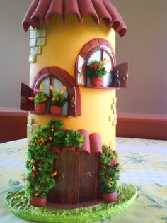 1 Million+ Stunning Free Images To Use A – Diy Crafts – DIY & Crafts 1 Million+ Stunning Free Images … Clay Fairy House, Fairy Houses, Wine Bottle Art, Wine Bottle Crafts, Paper Mache Crafts, Clay Crafts, Pottery Houses, Doll House Crafts, Tile Crafts