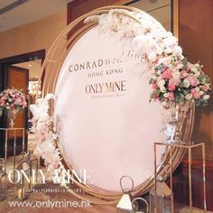 A pink and gold wedding might be as timeless and elegant as you can get, and Conrad Artisan Wedding Fair showcase that shines beautifully!…