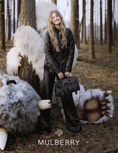 Mulberry AW 2012 Forest Fairytale campaign