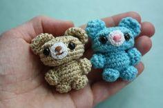 Amigurumi creations by Laura: Cute little amigurumi bears!
