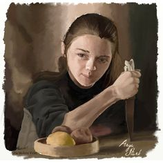 Arya Stark by Skab3txina.deviantart.com