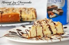 Almond Joy Cheesecake Recipe - Will Cook For Smiles