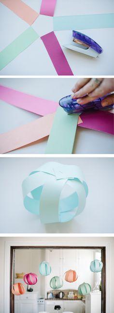 DIY Bolas de decoración para fiestas infantiles5