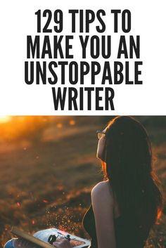 129 Tips to Make You an Unstoppable Writer #writer #writersofig #writersofinstagram#authorsofinstagram #amwriting#writerslife #writinginspiration #authorlife#writersofinsta #writerscommunity#writingtips #instawriter #amwriting #anwritingfantasy #writersblock #write_or_left #ilovewriting #writerscorner #amediting #indieauthors #readersofinstagram#amreading #yabooks #writingcommunity #bibliophile #explore#author #writer #reader #writenow