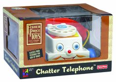 Amazon.com: Fisher Price Classic Chatter Phone: Toys & Games