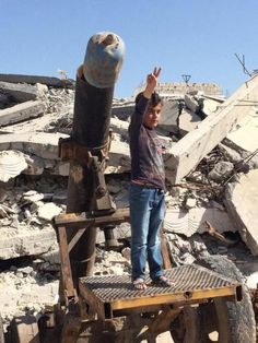 SYRIA and IRAQ NEWS: #Kobane #Cizire Update 85 - Controversy Surrounds Coalition Airstrike on IS-Held Village - 64 Civilians Now Reported Dead. *For MORE #Iraq and #Syria News ...* http://www.petercliffordonline.com/syria-iraq-news-5 PIC: Kobane Still Full of Danger for Returning Kurdish Children