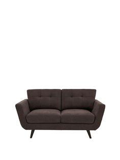 Riley 2-Seater Fabric Sofa   very.co.uk