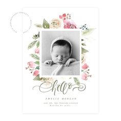 Swirls and Florals Birth Announcement Card was designed using WHCC specs and ᅠincludes: – 2 PSD Twin Birth Announcements, Baby Girl Birth Announcement, Birth Announcement Template, Birth Announcement Photos, Christmas Card Template, Baby Album, Custom Cards, Baby Birth, 3d Printing