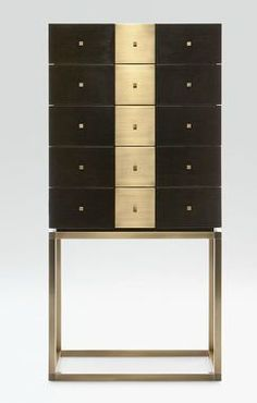 Very sleek drawer/door cabinet by Armani Casa