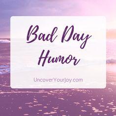 Bad day humor board cover