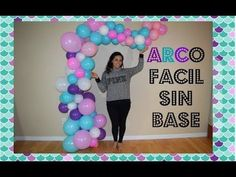 Como hacer arco destruido de globos sin base sireninta arco organico - YouTube Barbie Birthday, Unicorn Birthday Parties, Unicorn Party, Birthday Party Decorations Diy, Baby Shower Decorations, Balloon Garland, Balloon Decorations, Party Ballons, Baby Shower Balloons