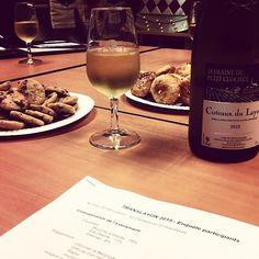 Coteaux du Layon et Cookies #vin #Accord