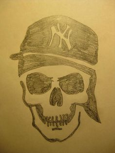 NY skull. Made by me