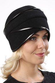 "Головной убор из драпа Д069 ""Лада"" - Головные уборы  ""Этель"" Turban Style, Cowl Scarf, Caps Hats, Hats For Women, Baseball Hats, Turbans, Elegant, Scarfs, Fashion"