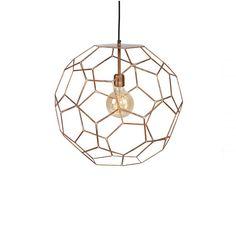 Lampa ażurowa metalowa Marrakesh - miedziana - MARRAKESH/H35/BCO