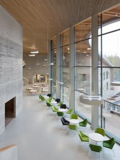 The school of the future has opened in Finland. Saunalahti school in the city of Espoo.