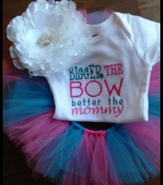Hey, I found this really awesome Etsy listing at http://www.etsy.com/listing/127968854/bigger-the-bow-better-the-mommy