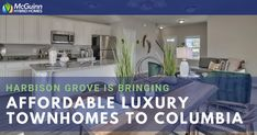 Harbison Grove Is Bringing Affordable Luxury Townhomes to Columbia Home Buying Process, Buying A New Home, Luxury Townhomes, South Carolina Homes, Energy Star Appliances, Home Warranty, Wood Blinds, Best Cities, Granite Countertops